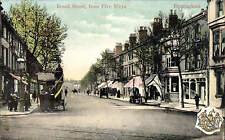Birmingham. Broad Street from Five Ways in Milton Glazette Series # 2370a.