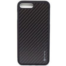 Pellicola Vetro+Custodia cover 4smarts Trendline Carbon Apple iPhone 7 8 Plus