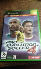 * Original Xbox Spiel * Pro Evolution Soccer 4 * X Box