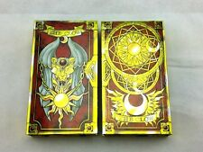 56 Piece Anime  Cardcaptor Sakura Clow Cards Set With Gold Clow Book New in Box