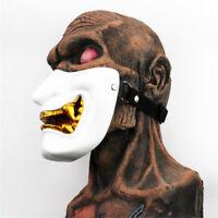 Anime Japan Hannya Mask Half Face Resin Cosplay Prop Hallowmas Halloween Dress @
