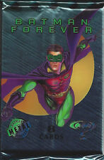 Batman Forever Trading Cards 20 Sealed Metal Packs