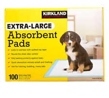 Extra Large Absorbent Pads 100 Large Dog Training Pads 30 x 23 Kirkland