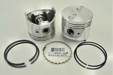 Piston Set +.020 with Rings (6) fits Datsun - Nissan 240Z 1973 & 260Z 1974-1975
