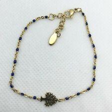 Chain Layered Ankle Bracelet For Women Bracelet Anklet Tree Charm Blue Gold Foot