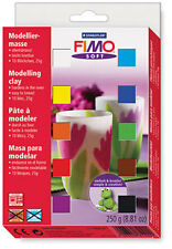 FIMO Soft Clay in 25g Blocks - Set of 10
