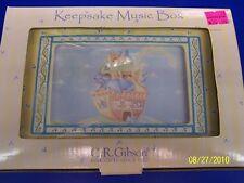 Noah's Ark Nursery Baby Keepsake Lullaby Music Box