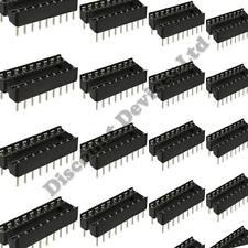 "10x 18 Pin RoHS PCB IC Socket DIL/DIP 18 0.3"""