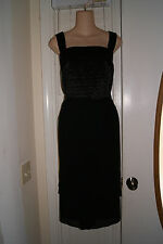 New Beautiful Le Bos Black Evening Formal Party Cocktail Dress Sz 24W $120