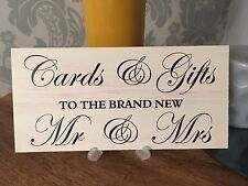 Shabby & Chic Wedding signs Plaques, Cards & Gifts to Bride Groom
