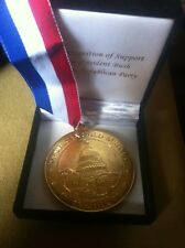 2003 Republican GOLD Medal for Support of President George Bush-76mm.Box&Ribbon