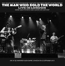 TONY VISCONTI & WOODY WOODMANSEY MAN WHO SOLD THE WORLD LIVE IN LONDON 2 CD NEW