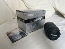 Tamron 18-200mm for Nikon F3.5/6.3. Di II VC lens with Kenko Filter