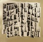Louise Nevelson Untitled (gold) Foil Print Edition of 2000