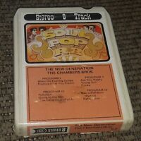 Chambers Brothers: New Generation 8 Track Tape cartridge LATE NITE BARGAIN vtg