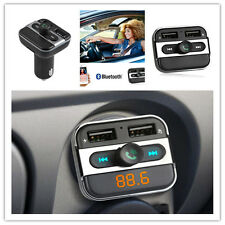 Bluetooth FM Transmitter USB Stick KFZ SD AUX Freisprechanlage Auto MP3 Player