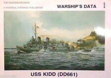 Warships Data USS Kidd DD-661 magazine 293