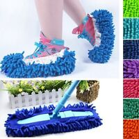 New Multifunction House Floor Lazy Dust Cleaner Slipper Shoes Cover Mop E2U