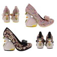 Bridal or Wedding Irregular Choice Textile Heels for Women