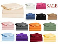Persian Collection 1900 Sheet set Fitted Flat 16 Deep Pocket Wrinkle Free