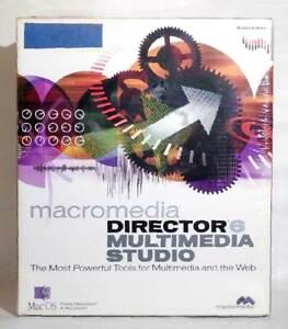 Macromedia Director 6 & Mutimedia Studio BRAND NEW in Sealed Box.