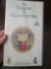 The Tailor of Gloucester Beatrix Potter   VHS Video Tape (NEW)