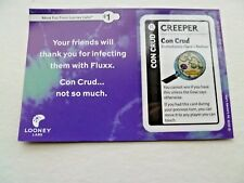 NEW Con Crud Creeper Card for Fluxx Card Game Looney Labs Place and Redraw
