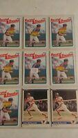 Kevin McReynolds Baseball Card Mixed Lot approx 290 cards