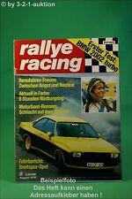 Rallye Racing 8/74 BMW 2002 Turbo Opel Kadett SR + Poster