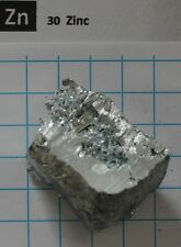 120.89 gram (4.25 Oz) 99.9+% Zinc Metal Nugget #18 - Pure Element 30 sample