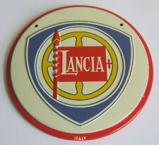 Vintage Wheaties Metal Lancia Cereal Premium Auto Emblem Sign V Good Condition