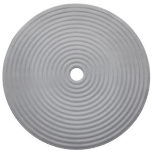 IKEA DOPPA Shower Mats Round Dark Gray/Rectangular Light Gray
