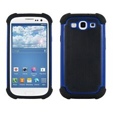 Kwmobile Hybrid funda protectora para Samsung Galaxy s3 s3 neo azul case cover TPU