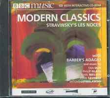STRAVINSKY: LES NOCES / BARBER: ADAGIO / NIELSEN: MASKARADE OVERTURE ++ - BBC CD