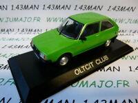 CEN1G Voiture 1/43 IXO DEAGOSTINI Balkans : OLTCIT Club (Citroën Axel)