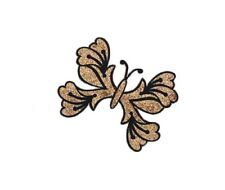 Bijou De Peau Tatoo Dore Papillon Body Art Bindi  B625