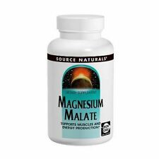 Magnesium Malate, 625mg x 100Caps, Source Naturals, Uk Stocks, 24Hr Dispatch