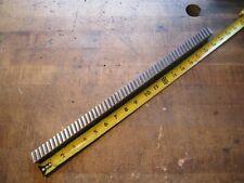 Ty Miles 741 W X 18 L Carbide Slant Tooth Machine Keyway Broach 1185 1313