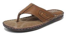 Slip Ons Men's Synthetic Leather Flip Flops