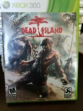 Dead Island Xbox 360 Game Complete Zombie manual disc