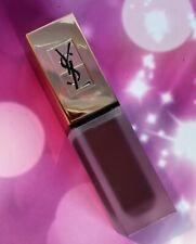 NEW FS YSL Tatouage Couture Liquid Matte Lip Stain lipstick Violet Conviction 15