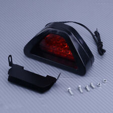 Red Triangle Flash LED Lights Brake Rear Tail Light for Car Motorcycle ATV