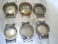 LOT X 6 OMEGA LADIES (CASE & CRYSTAL) FOR CAL 485                         *6632