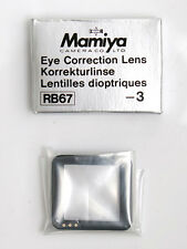 Mamiya RB/RZ -3 correction lens for Prism Finder corrección lupa prismensucher