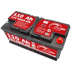 Batteria Auto Speed L6 110Ah 950A spunto 12V positivo a destra +DX VW Audi BMW