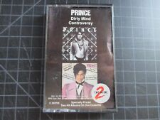 PRINCE DIRTY MIND/CONTROVERSY 2 IN 1 CASSETTE 1983 TESTED