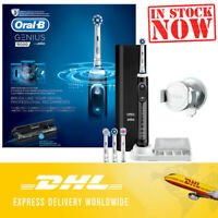 Oral-B Genius 9000 Black Electric Rechargeable Toothbrush DHL Express Shipping