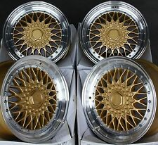 "17"" GPL RS ALLOY WHEELS FITS 4x100 ROVER SEAT SUZUKI VOLKSWAGEN MODELS"