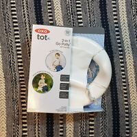 OXO Tot 2-in-1 Go Potty for Travel - Aqua - Open Box