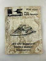 Genuine 1992-1993 Kawasaki JetSki SS/X4,JH750, Watercraft Service Manual OEM